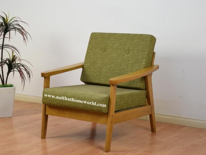 Sofa đơn khung gỗ hw145 - homeworld12