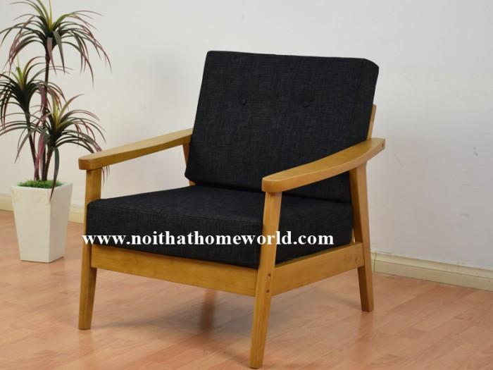 Sofa đơn khung gỗ hw145 - homeworld13