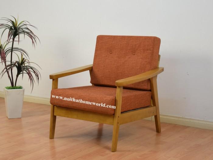 Sofa đơn khung gỗ hw145 - homeworld0