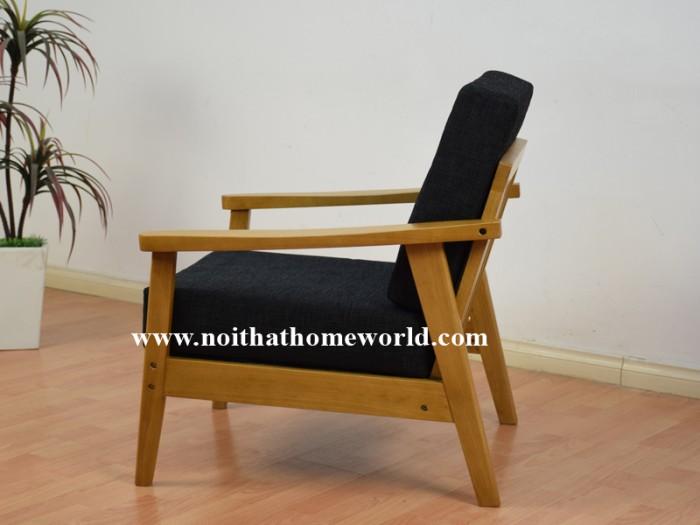 Sofa đơn khung gỗ hw145 - homeworld8