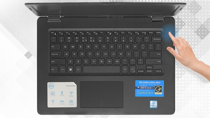 Laptop Dell Vostro 14 3480 (F3480-70183778) (i5-8265U) (Đen)1