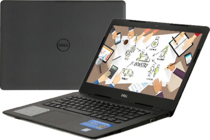 Laptop Dell Vostro 14 3480 (F3480-70183778) (i5-8265U) (Đen)0