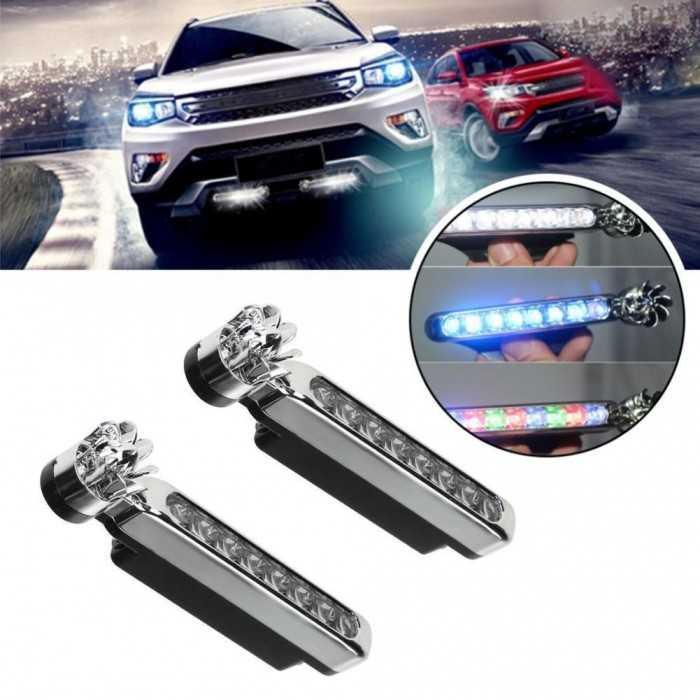Thông tin sản phẩm:   Đèn chạy xe ban ngày giúp lái xe an toàn hơn.   Giúp bạn nhìn thấy ở khoảng cách xa hơn khi lái xe.   Thiết kế nhỏ gọn và nhẹ.   Có lớp keo dán tự dính, dễ lắp đặt.0