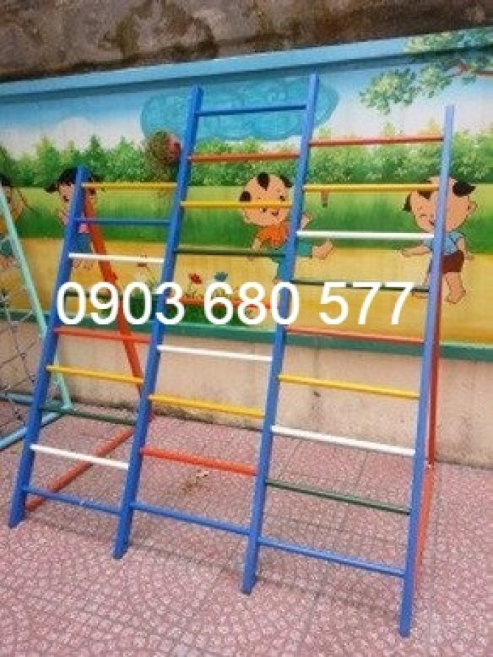 Nơi bán thang leo trẻ em cho trường lớp mầm non, công viên, khu vui chơi16