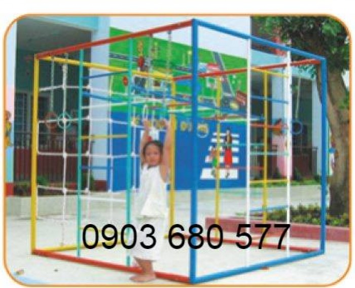 Nơi bán thang leo trẻ em cho trường lớp mầm non, công viên, khu vui chơi6