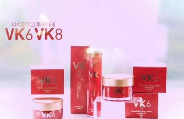 Kem dưỡng trắng da măt VK6 muốn đẹp tự nhiên nhưng không tự nhiên mà đẹp