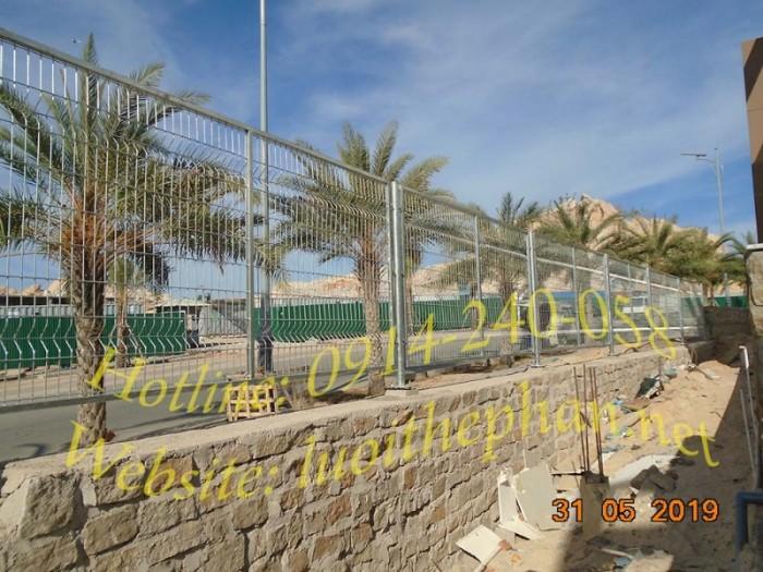 lưới thép hàn; hàng rào lưới thép; hàng rào mạ kẽm2