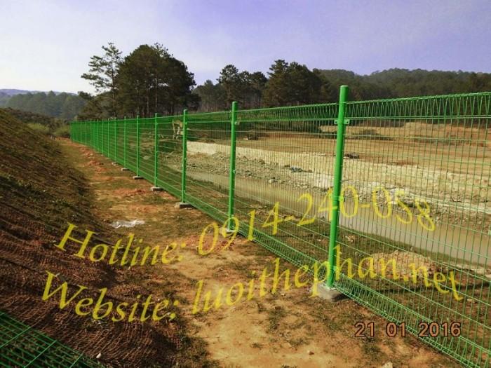 lưới thép hàn; hàng rào lưới thép; hàng rào mạ kẽm4
