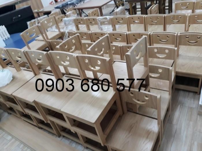 Chuyên bán bàn ghế gỗ mầm non giá rẻ, uy tín, chất lượng nhất9