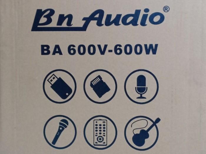 Loa kéo BN AUDIO BA 600V công suất đến 600W1