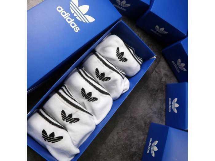 hộp tất thể thao adidas 8 đôi0