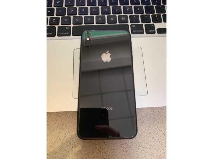 Iphone Xs Max 256gb đen lock mỹ đẹp nguyên zin iphone Phương Duy đã sử dụng 1