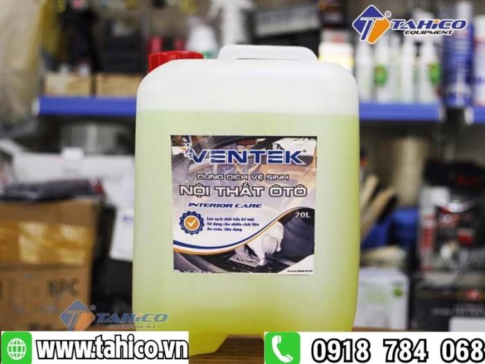 Dung dịch vệ sinh làm sạch nội thất xe ô tô du lịch Ventek 20 lít1