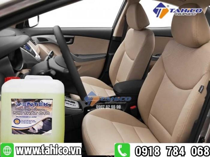 Dung dịch vệ sinh làm sạch nội thất xe ô tô du lịch Ventek 20 lít2