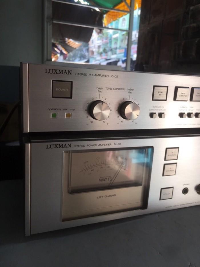 Chuyên Bán ampli Luxman PRE &POW  C2&M2 hàng tuyển về7