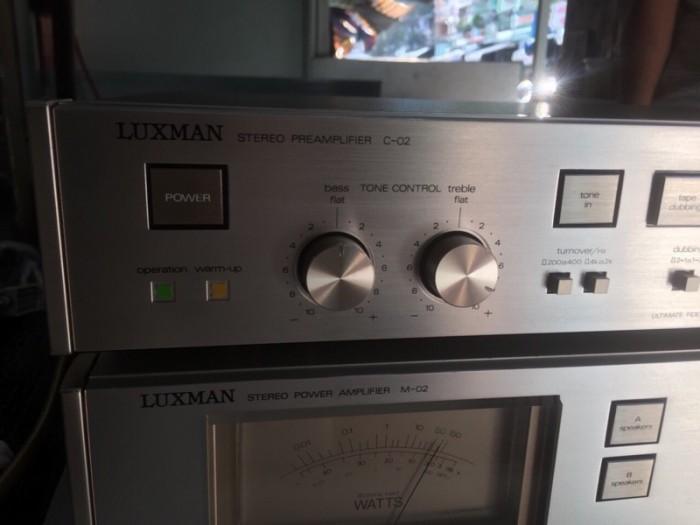 Chuyên Bán ampli Luxman PRE &POW  C2&M2 hàng tuyển về1