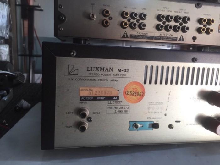 Chuyên Bán ampli PRE &POW Luxman M2C2 hàng ển về.3