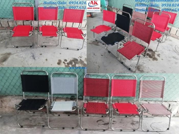MẪU GHẾ XẾP LƯỚI INOX GIÁ RẺ - INOX ANH KHOA - Khung inox 6zem - Loại ghế lưới cao cấp được sử dụng nhiều nhất, được khách hàng tin dùng lựa chọn thường xuyên GIÁ: 110.000 Đ Liên hệ: 0934024142 - 0907653081