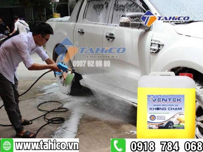 Dung dịch rửa xe không chạm Ventek VET75 20 lít0