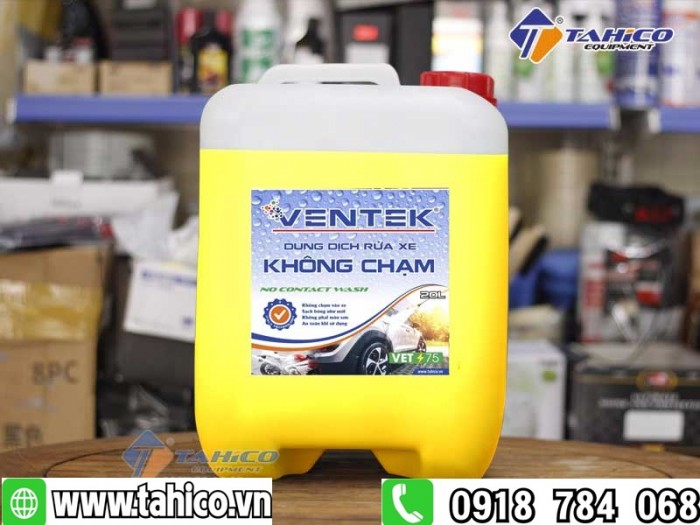Dung dịch rửa xe không chạm Ventek VET75 20 lít2