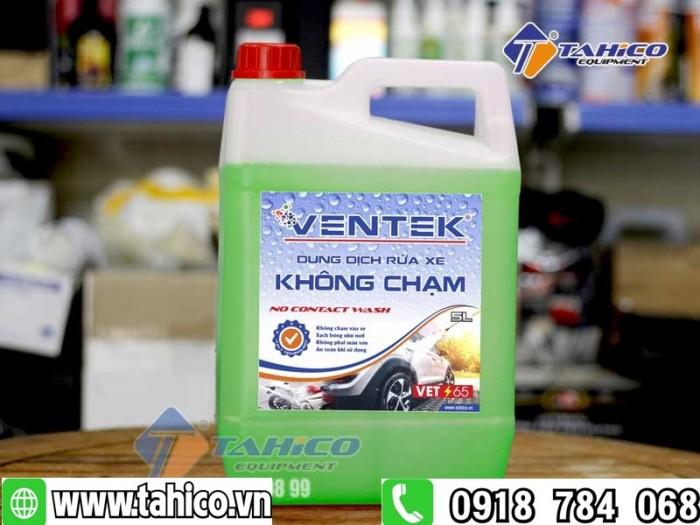 Dung dịch rửa xe không chạm Ventek VET65 5 lít0