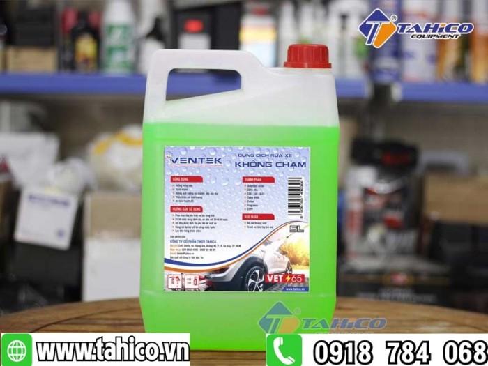 Dung dịch rửa xe không chạm Ventek VET65 5 lít1