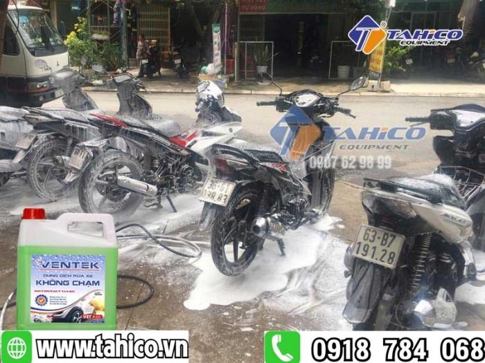 Dung dịch rửa xe không chạm Ventek VET65 5 lít2
