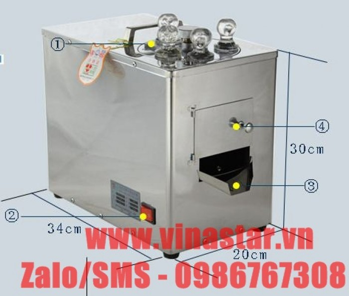 Máy cắt thái dược liệu DQ-103