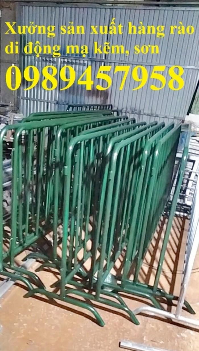 Sản xuất hàng rào di động mới 100%, hàng rào chắn an ninh có sẵn2