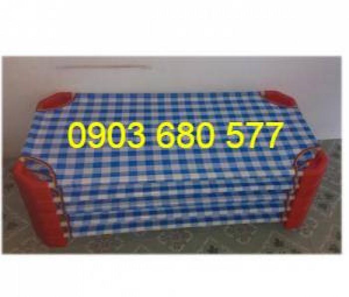 Chuyên bán giường ngủ lưới mầm non dành cho trẻ nhỏ4