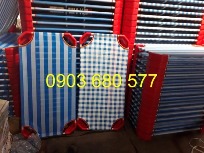 Chuyên bán giường ngủ lưới mầm non dành cho trẻ nhỏ10