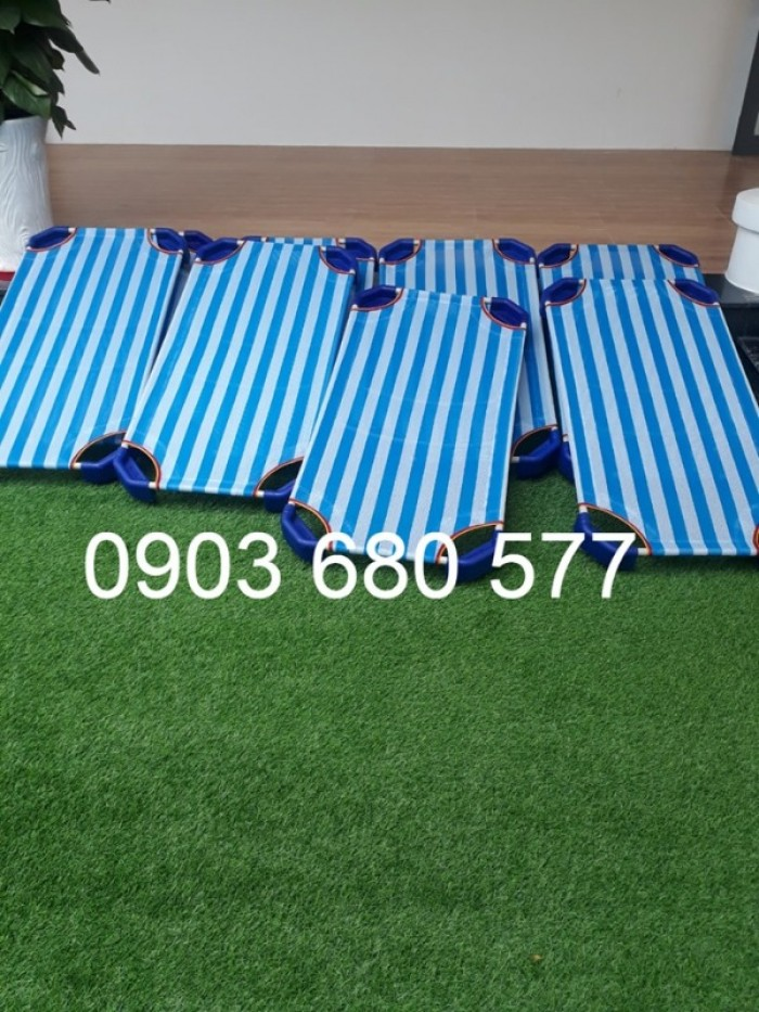 Chuyên bán giường ngủ lưới mầm non dành cho trẻ nhỏ26