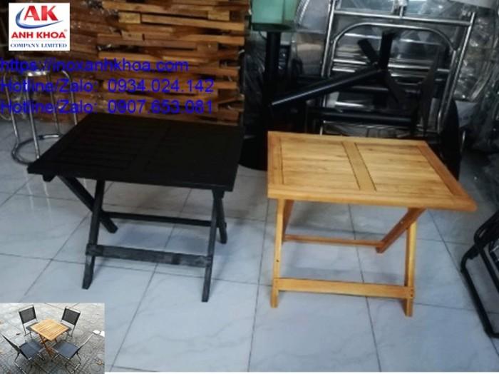BÀN XẾP GỖ VUÔNG 45*60 gỗ tràm cao cấp giá: 175.000 đ LIÊN HỆ: 0934024142 - 0907653081