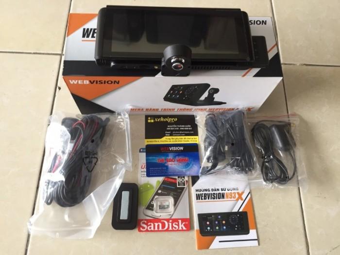 Camera hành trình Webvision N93X chính hãng2