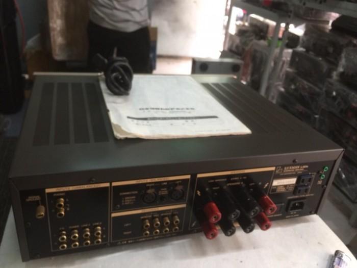 Bán chuyên Ampli luxxman L501S hàng bãi, Long lanh0