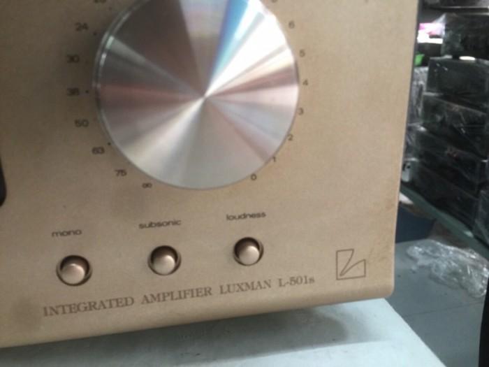 Bán chuyên Ampli luxxman L501S hàng bãi, Long lanh4
