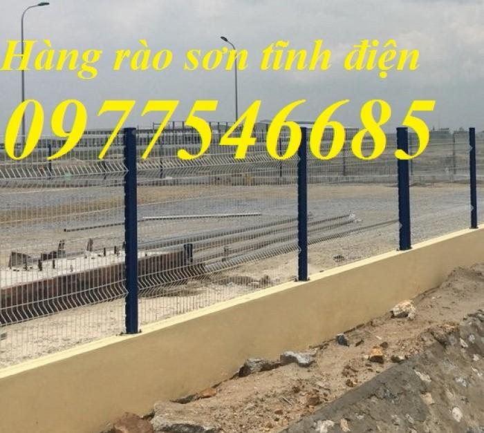 Hàng rào mạ kẽm ,lưới thép mạ kẽm ,hàng rào sơn tĩnh điện1