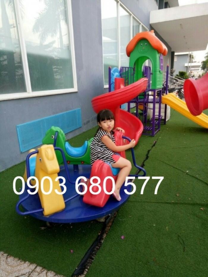 Chuyên bán đu quay, mâm xoay trẻ em dành cho trường mầm non, sân chơi, công viên20