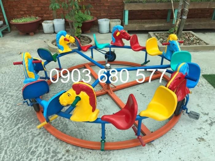 Chuyên bán đu quay, mâm xoay trẻ em dành cho trường mầm non, sân chơi, công viên16