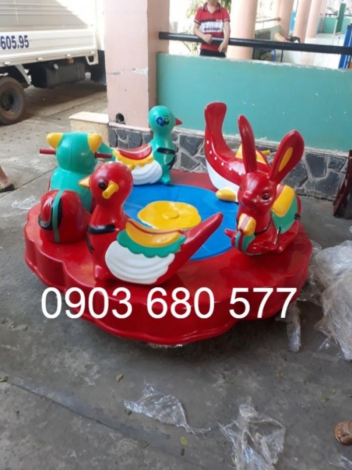 Chuyên bán đu quay, mâm xoay trẻ em dành cho trường mầm non, sân chơi, công viên24