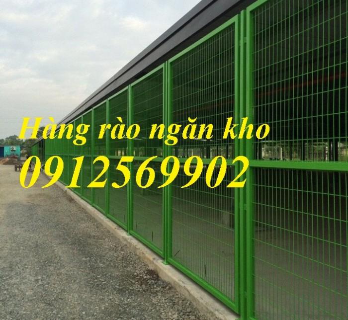 Hàng rào lưới thép, hàng rào mạ kẽm, sơn tĩnh điện0