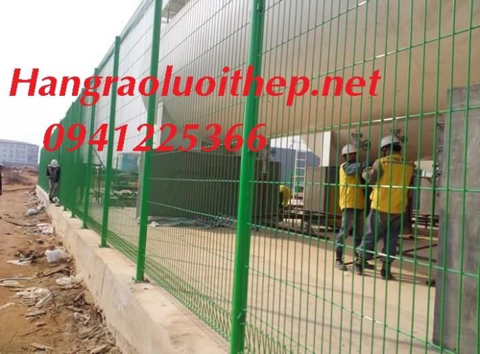 Hàng rào lưới thép, hàng rào mạ kẽm, sơn tĩnh điện1
