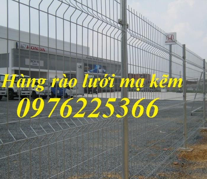Hàng rào lưới thép, hàng rào mạ kẽm, sơn tĩnh điện2