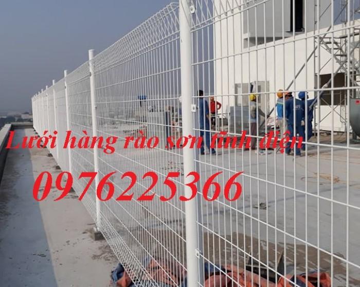 Lưới thép hàng rào mạ kẽm, hàng rào sơn tĩnh điện1