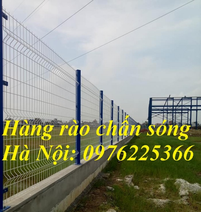 Lưới thép hàng rào mạ kẽm, hàng rào sơn tĩnh điện5