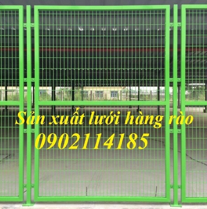 Lưới thép hàng rào mạ kẽm, hàng rào sơn tĩnh điện6