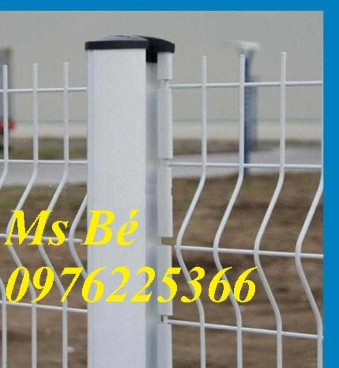 Lưới thép hàng rào mạ kẽm, hàng rào sơn tĩnh điện7