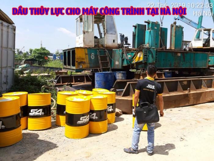 Dầu nhớt nhập cho máy công trình tại Hà Nội 2