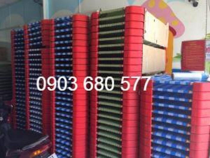 Cần bán giường ngủ lưới mầm non dành cho trẻ nhỏ giá ưu đãi2