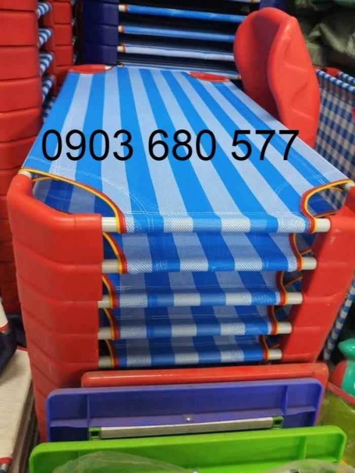 Cần bán giường ngủ lưới mầm non dành cho trẻ nhỏ giá ưu đãi9